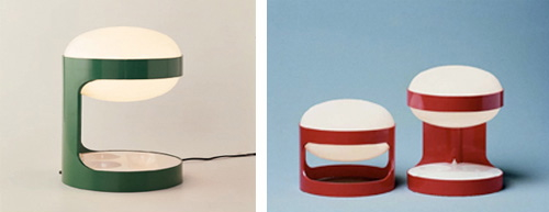 kartell-joe-colombo-lamps