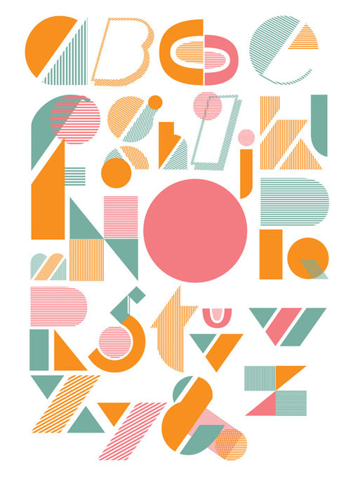 Fresh From The Dairy: Typography in art  Category