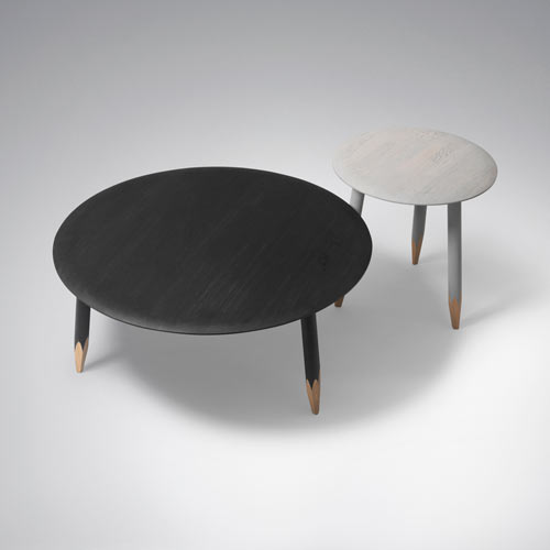 Hoof Tables by Samuel Wilkinson in home furnishings  Category