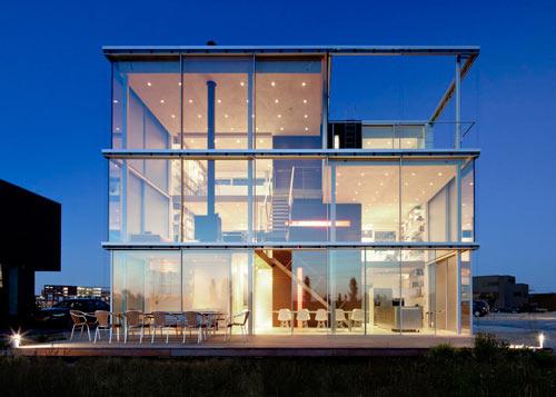 Rieteiland House by Hans van Heeswijk