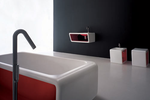 Leave It To Karim Rashid Bring Bath Fixtures The Future He Partnered With Saturn Company In Korea Create Collection Which Plays
