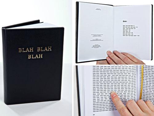 Blah Blah Blah Book by Gogelmogel