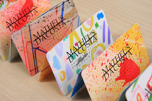 Business Cards by Matheus Dacosta in art  Category