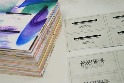 Business Cards by Matheus Dacosta