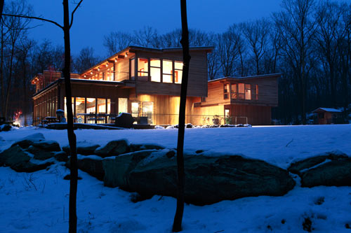 Hudson Valley Country House by Fractal Construction in architecture  Category
