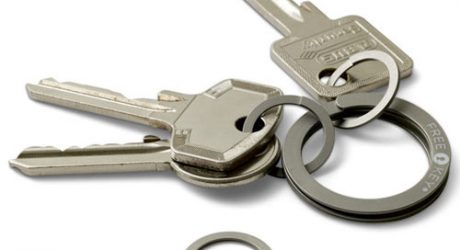 Freekey Press-to-Open Key Ring