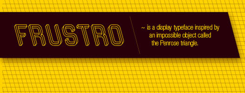 Frustro Typeface by Martzi Hegedus in main art  Category