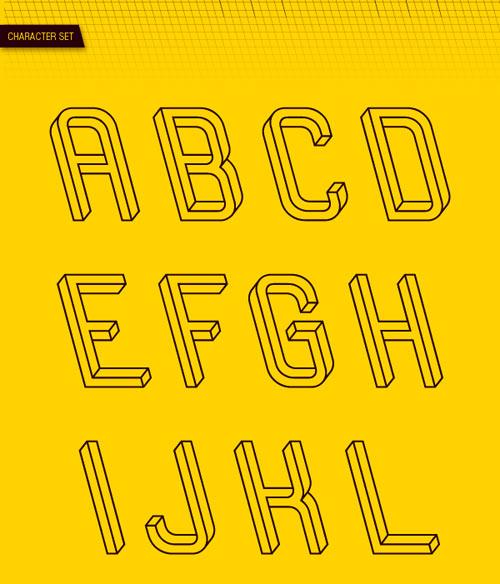Frustro Typeface by Martzi Hegedus