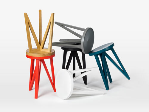 JL 1 and JL 4 Faber Stools by Loehr in main home furnishings  Category