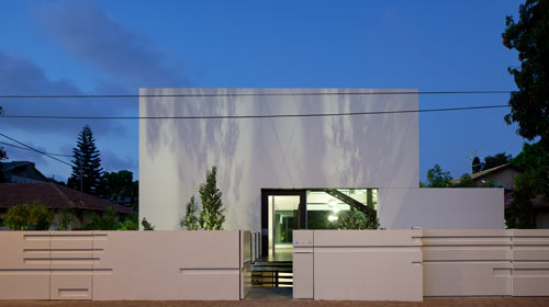 Ramat Gan House by Pitsou Kedem in main architecture  Category