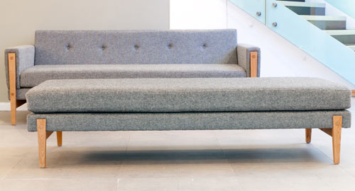 Modern Furniture Bench bench sofa | prince furniture