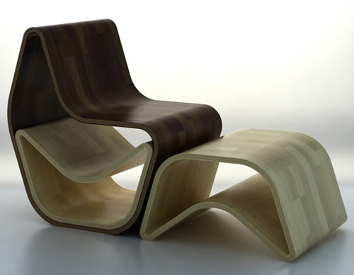 GVAL Chair by OOO My Design