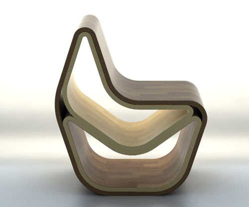 GVAL Chair by OOO My Design in main home furnishings  Category