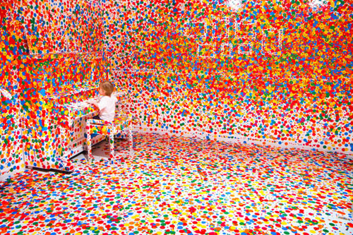 The Obliteration Room by Yayoi Kusama