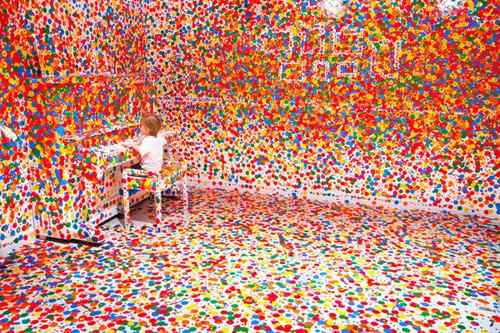 The Obliteration Room by Yayoi Kusama