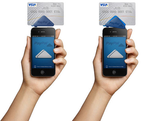 paypal here mobile credit card reader design milk - Paypal Credit Card Swiper