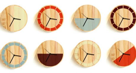 Primary Clock by David Weatherhead & GOODD
