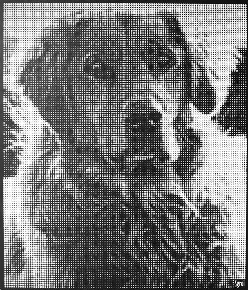 3Tone Halftone Art by Jeffrey Sgroi in technology main art  Category