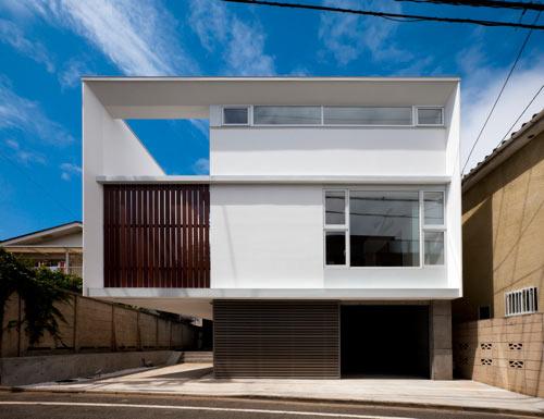 Twin Megaphones House by Atelier Tekuto