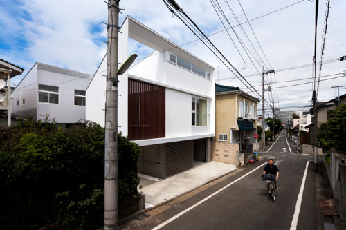 Twin Megaphones House by Atelier Tekuto in main architecture  Category