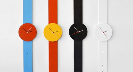 Watch Clock by Andrew Neyer
