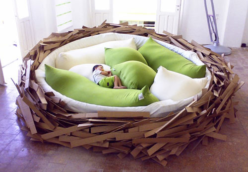 Birdsnest Bed in style fashion interior design home furnishings architecture  Category