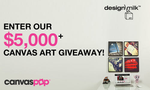 Reminder: $5,000+ CanvasPop Canvas Art Giveaway