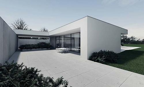 CZ-House by Tamizo Architects