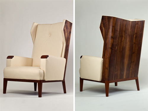 Modern Wing Chairs modern wing chair. modern wing chair in home interior ideas with