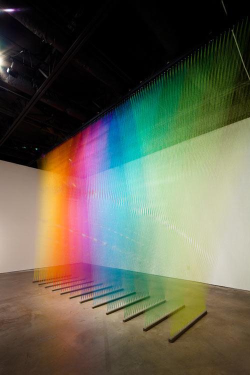 Thread Installation by Gabriel Dawe in main art  Category