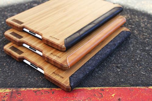 Grove's Felt + Bamboo iPad Case
