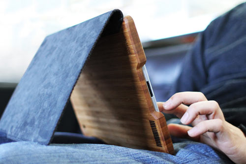 Groves Felt + Bamboo iPad Case in technology style fashion  Category