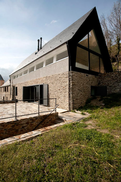 House At The Pyranees by Cadaval & Solà Morales in main architecture  Category