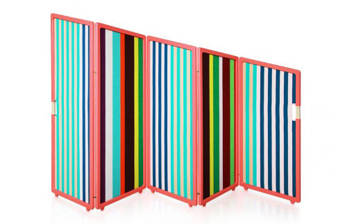 Folding Screen and Magazine Rack by Note Design Studio