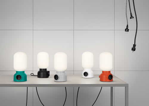 Plug Lamp from Ateljé Lyktan in main home furnishings  Category