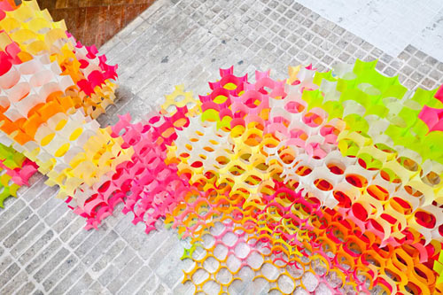 Sticky Note Structures by Yo Shimada in main art architecture  Category