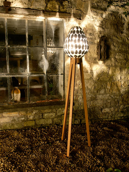 Spoon Lamp by Clive Roddy in main home furnishings  Category