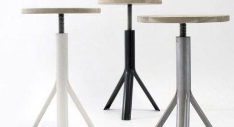 Ike Stool by Studio Dreimann