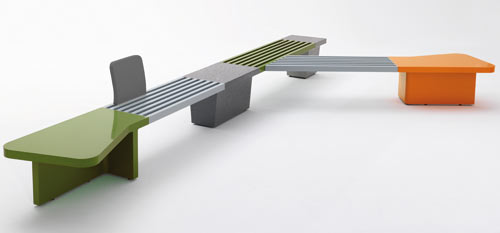 Abracadabra Bench by Lagranja Design