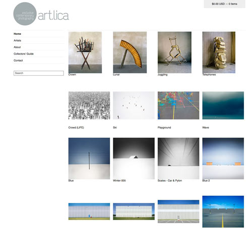 Artlica-screenshot