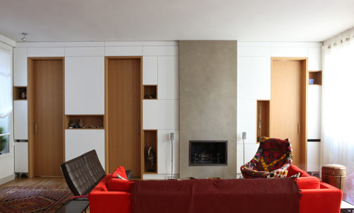 Paris Apartment by Alia Bengana Architecte