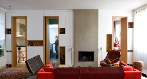 Paris Apartment by Alia Bengana Architecte in main interior design architecture  Category
