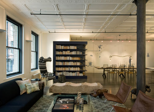 Mercer Street Loft by DHD Architecture and Design - Design Milk