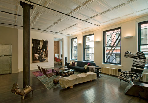 Mercer Street Loft by DHD Architecture and Design in main interior design architecture  Category