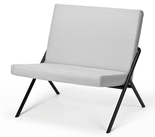 DL 2 Euclides Easy Chair by Loehr