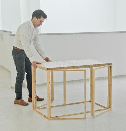 FAN Table By Mauricio Affonso Design Milk