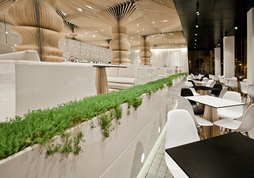 Graffiti Cafe by studio MODE in main interior design  Category