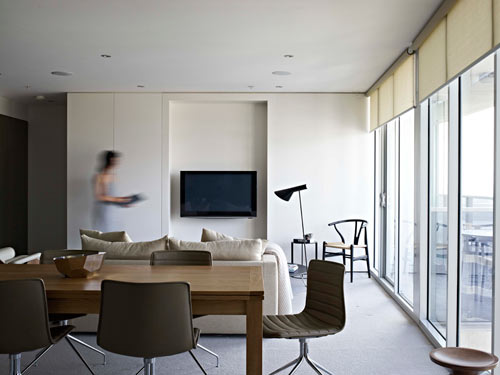 Docklands Apartment by Nexus Designs