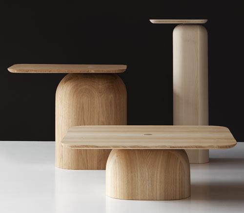 April Tables by Alfredo Häberli for Nikari