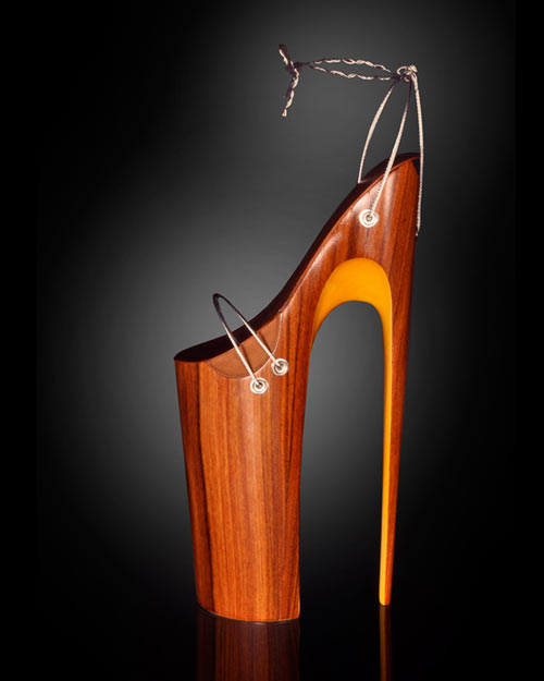 Sculptural Stilettos by Omar Perez in main  Category